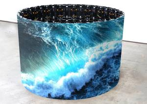 China P8 Flexible LED Screen Panel / IP53 soft led module With MBI5124 Driving IC on sale