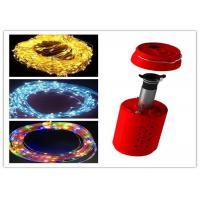 Chirstmas RGB Salt Water Powered Light Decorative 10-12Hrs For Outside Party
