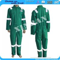 Oil and gas field Bomber ppe china manufacture Fireproof Nomex Antistatic Work Uniform in fire suit