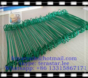 China 12 Double-loop, PVC-coated Wire Ties (100/bag) / double tie wire / Copper coated wire ties on sale