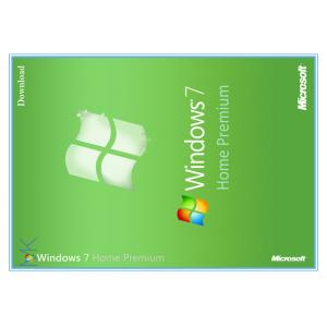China Microsoft Win 7 Home Premium Product Key 32 Bit  Retail Box Lifetime Warranty on sale