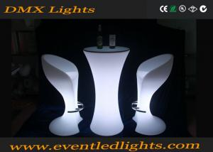 China Super Bright RGB Color Changing Led Cocktail Tables For Events Party Wedding on sale