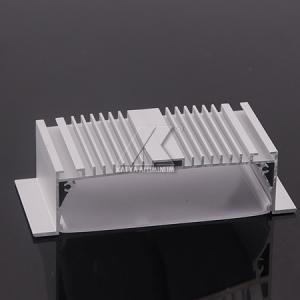China Little Scratch LED Aluminium Profile T3-T8 Temple Big LED Bar 60-80um Powder Coating on sale