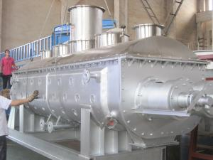 China Hollow Blade Vacuum Drying Machine For Chemical Industry SS304 SS316 CS on sale