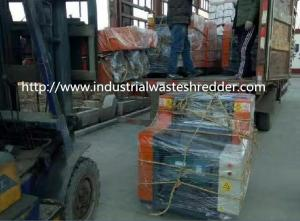 China Industrial Waste Cardboard Box Shredder For Loose / Baled Type Old Clothes on sale
