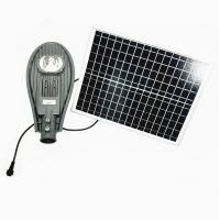 100W Solar Powered LED Street Lights HKV-AX03-100-1 With Battery Backup