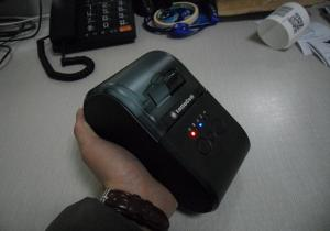 China Big Paper Bucket Wireless Bluetooth Label Printer ,  Smart Cell Phone Printer Module on sale