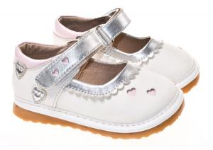 China hot selling fashion leather squeaky kid shoes dress shoe SQ-A11201WH on sale