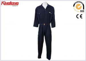 China Safety Mens Coverall Uniforms , Outdoor OR Indoor Factory Worker Uniform on sale