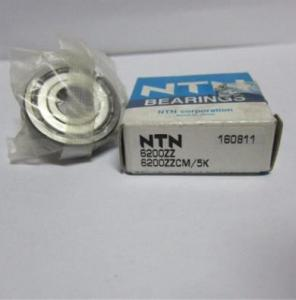 China High quality NTN 6200 Deep groove ball bearing for Automotive accessories on sale