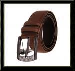Stigmatisez la ceinture «Fuliter» boucle noire véritable de Pin de casaul des ceintures en cuir de 241 hommes de vache