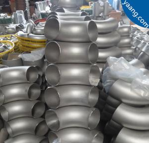 China 316L Seamless Stainless Steel 180 Degree Elbows wholesale