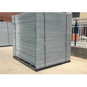 Quality Height 2.1m x  Width 3.3m temporary construction fence for sale Hot dipped galvanized  Q235 steel temp fence panels for sale