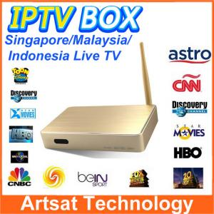 China Malaysia HD IPTV Set Top Box ASTON X8 ASRTO IPTV Android Box Support 156 Channles For Malyasia Singapore Indonesia on sale