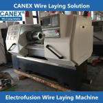 CX-32/160ZF Poly pipe fittings wire laying machine