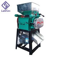 China Industrial Larger Capacity Peanut Crusher Machine Customizable Color on sale