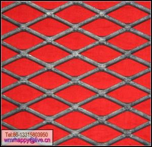 China flattened expanded metal mesh on sale