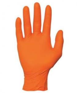 China OEM / ODM Disposable Nitrile Gloves Resistant To Punctures Customized Size on sale
