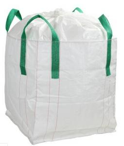 China 4 Handle Polypropylene Big Bag FIBC For Packing Silica Sand , 35 x 35 x 47'' Size on sale