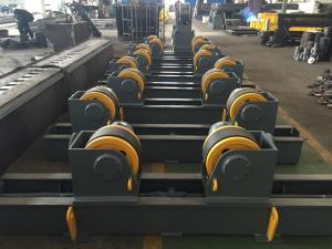 China Gray Welding Pipe Turning Rollers Double Drive 700~5000 Vessel Diameter on sale