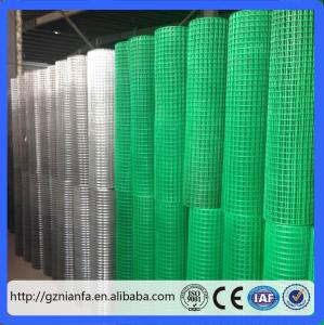 China Guangzhou pvc/ stainless steel/ galvanized welded wire mesh for building(Guangzhou Factory) on sale