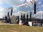 Suporte exterior dos oradores dos eventos dos sistemas 48.3Mm do fardo da iluminação da fase da camada do concerto