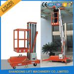 China Single Four Mast Aluminum Alloy Aerial Work Platform Lift For Aerial Work CE Hydraulic wholesale