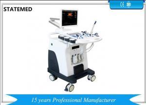 China 100 V-240 V Trolley Ultrasound Scan Machine For Pregnancy And Fetus Liver Kidney on sale