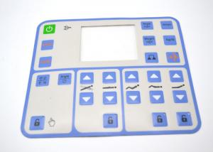 China Embossed Tactile Membrane Switch Keypad , Multi Button Membrane Panel Switch on sale