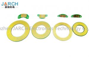 Quality Sub Miniature 6mm Pancake Slip Ring For Revolving Doors / Medical Machines for sale