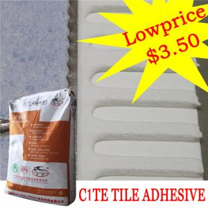 Heat Proof Exterior Tile Cement Based Adhesive For Swimming Pool , High  Strength