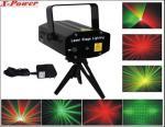 Luz da fase do laser da cor vermelha e verde a mini com os 20 Gobos para KTV, DJ dos testes padrões bate S-20