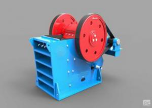 China V - Type Jaw Crusher Machine Deep Crushing Chamber Electrical Motor Drive on sale