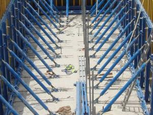 China Waterproof Simple Single-side Bracket Concrete Wall Formwork for building the wall on sale