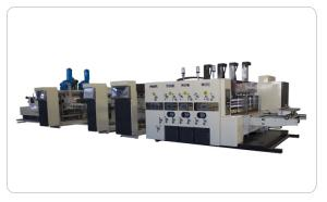 China Stable Printing Slotting Die Cutting Machine Corrugated Box Making Plant on sale