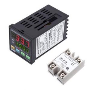 China Programmable PID Temperature Controller LED Thermometer SSR on sale