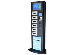 China LCD Advertising Cell Phone Charging Station , Charging Stations for Electronics Phone on sale