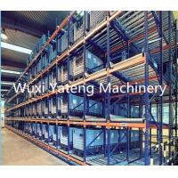 High Efficiency Storage Rack Roll Forming Machine For Supermarket Upright Shelves