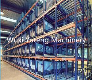 China High Efficiency Storage Rack Roll Forming Machine For Supermarket Upright Shelves on sale