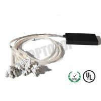 Single Mode Fiber Coupler 1XN LC Fbt Coupler Φ2 Length Customized Package D