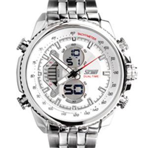 China SKMEI modern digital men big mens waterproof Digital Dual Time Watch on sale