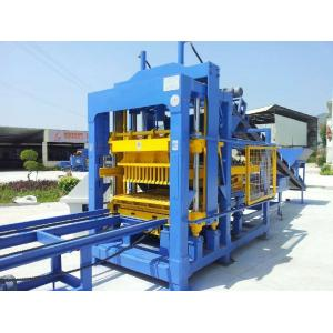 China QT6-15 automatic hydraulic cement hollow block making machine/interlocking brick machine from manufacture with low price on sale