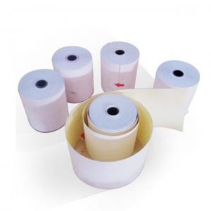 China Recycled Blank Carbonless Paper , Nontoxic Carbonless Laser Paper OEM Printed on sale