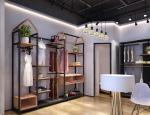 Freestanding Clothing Display Racks Clothing Store Displays Metal / MDF Material