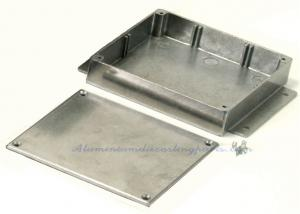 China Metal Stamping Process Sheet Metal Process Alloy Aluminum Cast Flanged Box on sale