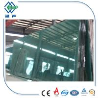 5mm 6mm 4mm Clear Float glass , solid float process glass with fine polished Corner