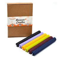 China Rolled Beeswax Candles Homemade on sale