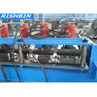 Automatically 18 Rollers Door Frame Roll Forming Machine with Hydraulic Mold Cutting