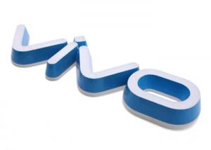 China VIVO 3D Lighting Acrylic Mini LED Channel Letters / Indoor Business Signs on sale