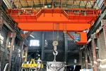 Overhead Crane for Metallurgy Capacity: 100/32t, 320/80t Span: 19.5-28.5m Lifting Height: 20/22m, 28/32m